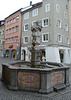 Bludenz, The Fountain on Rathausgasse