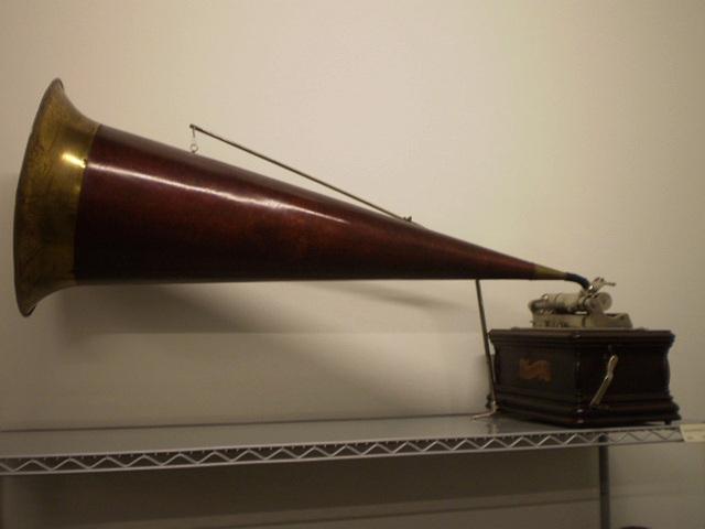 Graphophone BG (U.S.A., 1905).