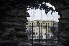 Schönbrunn hinter Gittern