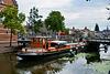Sail Leiden 2018 – Antonius passing the Scheluwbrug