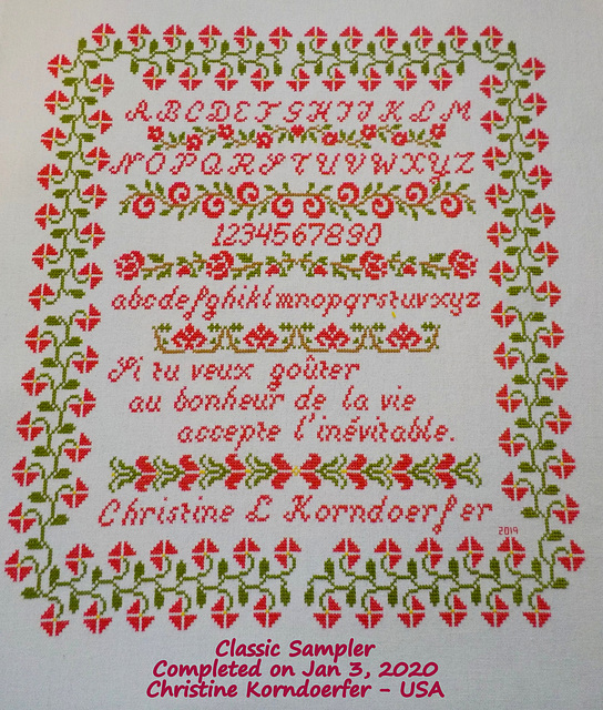 Classic Sampler - COMPLETED Jan 3, 2020