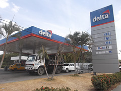 Delta gas in US dollars