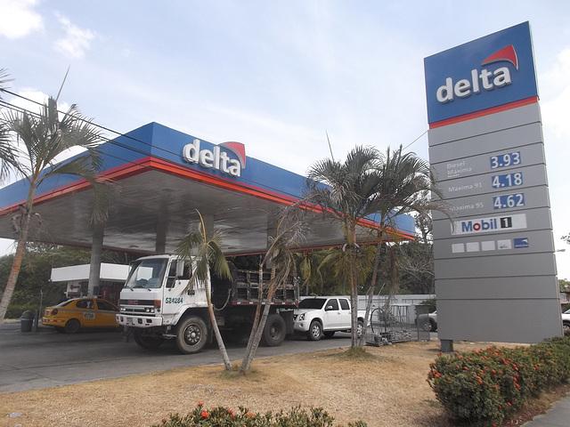 Delta gas in US dollars