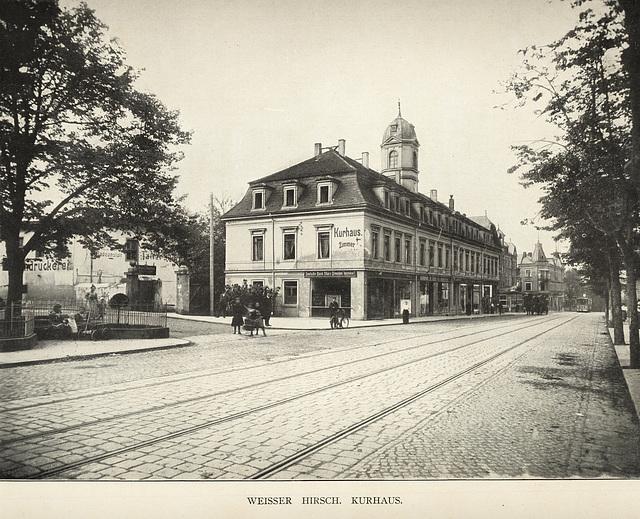 Album von Dresden: Weißer Hirsch Kurhaus