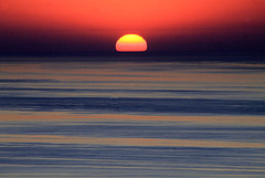 Couchant sur mer..!