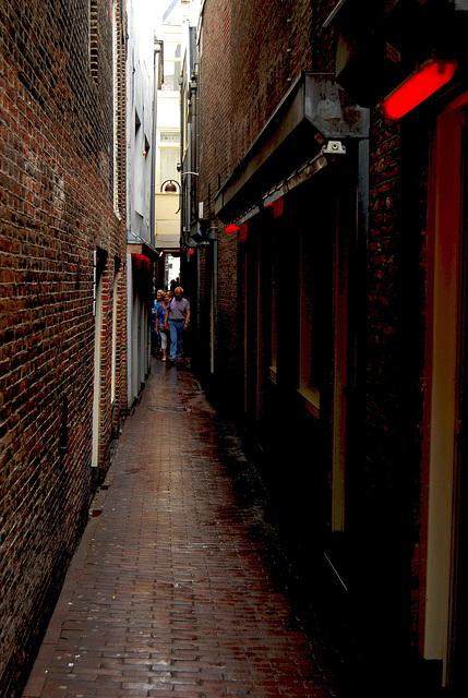 Alleyway in Amsterdam