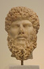 Portrait Head of Lucius Verus from Athens in the National Archaeological Museum of Athens, May 2014