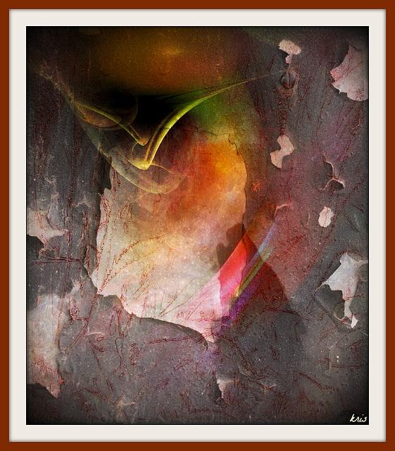 Avec des torrents de paroles qui te restent au travers du cœur Et de la gorge. Regarde