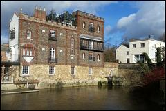 Cauldwell's riverside folly