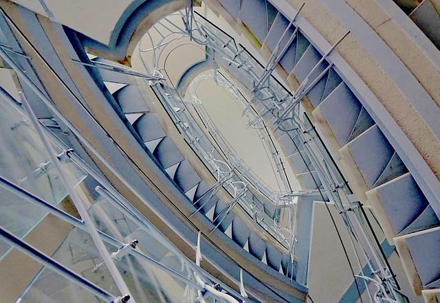 Moderne Wendeltreppe - Modern spiral staircase