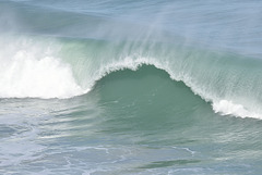 Large Wave on the break.