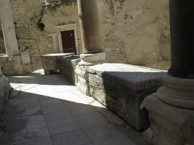 Balustrade de la cathédrale.