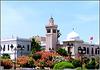 Tunisi : la parte più alta della città dove si trovano i palazzi governativi