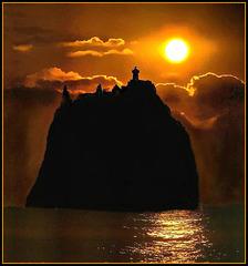 Strombolicchio  Sunrise. ©UdoSm