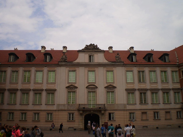 Royal Palace's yard.