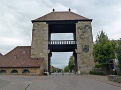 Das Deutsche Weintor am beginn der Südlichen Weinstrasse