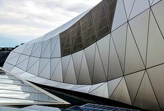 Lyon: Musée des Confluences: Architectural Detail II