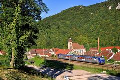 Z 9500 dans la vallée du Doubs