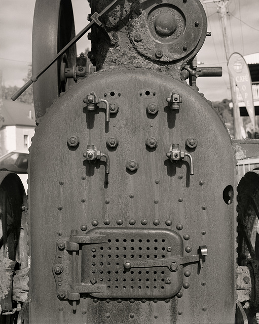 Donkey Engine Front, Carcoar — 180602