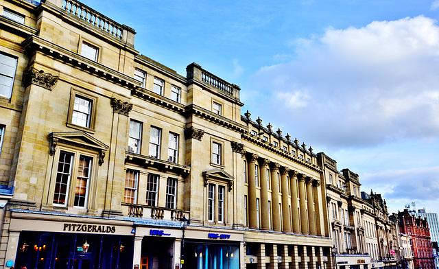 Grey Street.Grainger Town.Newcastle upon Tyne