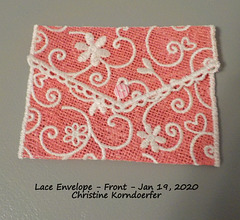 Lace Envelope - Front - 1-19-20