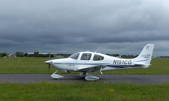 N151CG at Solent Airport - 6 June 2021