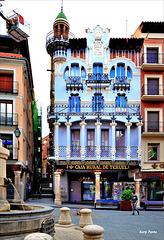 "Casa ""El Torico"" - Modernismo - Teruel"
