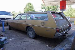 1971 Plymouth Fury Custom Suburban Station Wagon