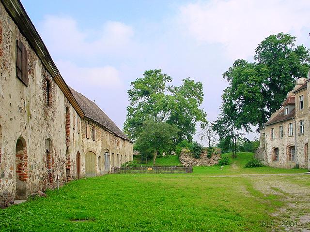 Spantekow (Festung) in Vorpommern