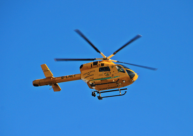 McDonnell Douglas MD902 Explorer Helicopter of the Lincs and Notts Air Ambulance