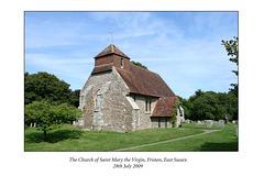 St Mary the Virgin Friston 28 7 09