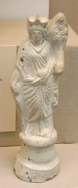 Terracotta Figure of the Goddess Fortuna in the British Museum, April 2013