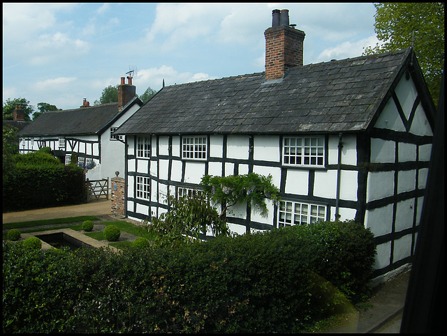 cottages at Church Minshull
