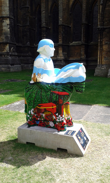 """""""The circle of Lincolnshire life""""  ~ Lincoln's Knights trail"""