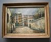 Maurice Utrillo : rue du Mont-Cenis