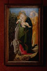 """""""Fuite en Egypte"""" (Sandro Botticelli - vers 1505)"""