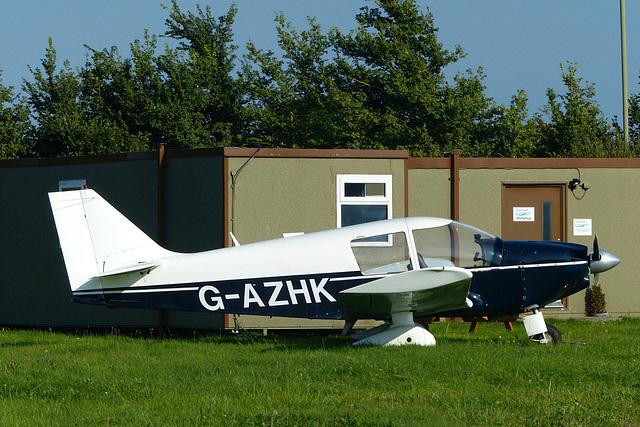 G-AZHK at Solent Airport - 27 August 2017