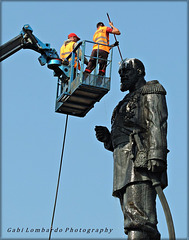 cleaning the Tsar (Irkutsk/Siberia)