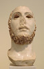 Colossal Head from Athens of a Young Man in the National Archaeological Museum of Athens, May 2014