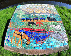 Millennium mosaic.