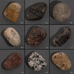 Favorites From My Second Batch of Tumbled Rocks, Set 2 (+16 insets and 9 notes!)