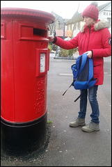 red is for pillar box