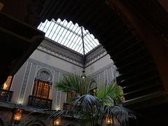 Casa do Alentejo, Lisbon, courtyard