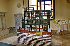 Calvörde, altes Turmuhrwerk