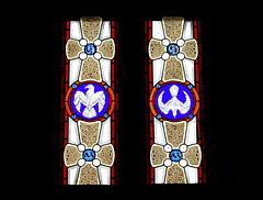 Stained Glass, Llandenny Church, Monmouthshire