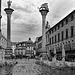 Ein Regentag auf der Piazza dei Signori in Vicenza -  A rainy day in the Piazza dei Signori in Vicenza