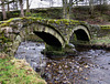 13th Century bridge at Wycoller (1 of 2).