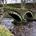 Wycoller, 13th Century bridge (1 of 2).