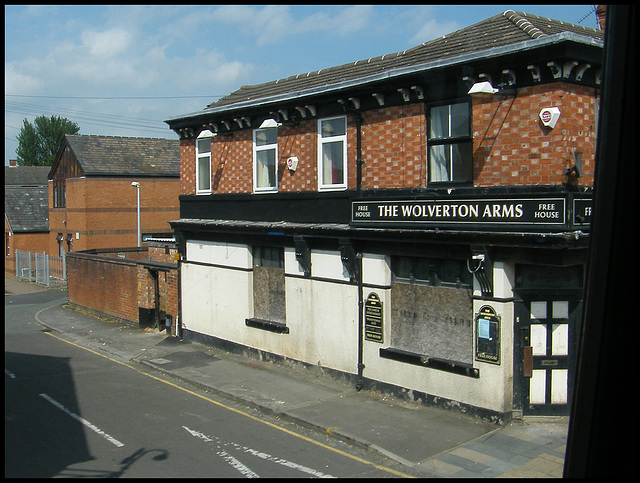 The Wolverton Arms at Crewe