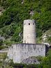 Burg La Bâtiaz oberhalb von Martigny